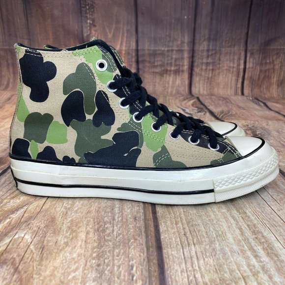 Converse All Star Chuck 70 Camouflage Men Size 7 Women size 9 Athletic Shoes